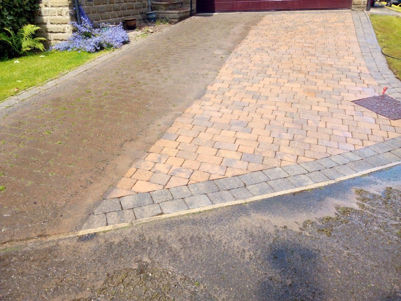 Block paving sealer Ottley